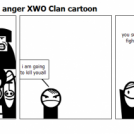 Jimmy returns with anger XWO Clan cartoon