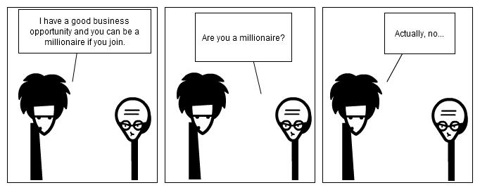 Thin-air affiliate