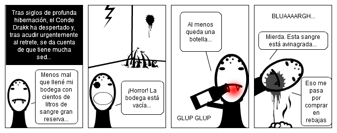 """Vampillos # 2 - """"La bodega"""""""