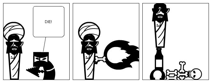 Fail ninja!