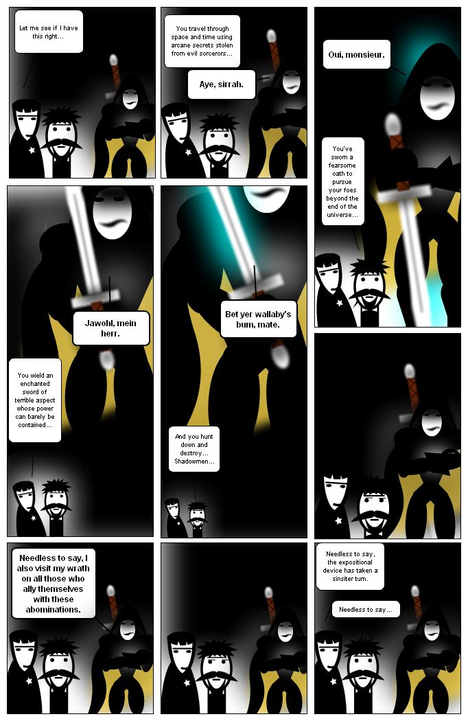 Shadowhunter: a Brief