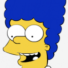 Marge Simpson in colors !