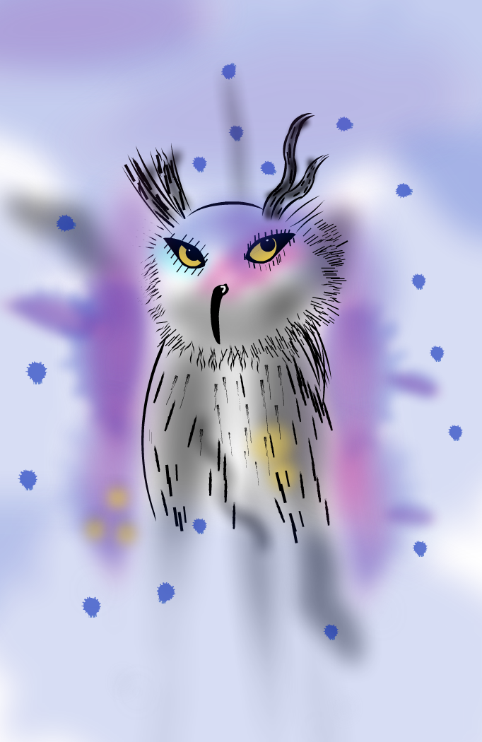 My godson's owl (Aleix Burgos Valencia)
