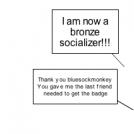 Bronze Socializer