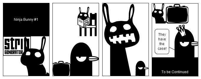 Ninja Bunny #1
