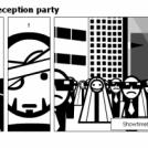 Bill the Klingon - Reception party