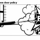 Bill the Klingon - Open door policy