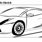 Lamborghini Gallardo Sketch
