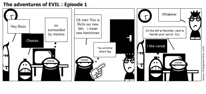 The adventures of EVIL : Episode 1