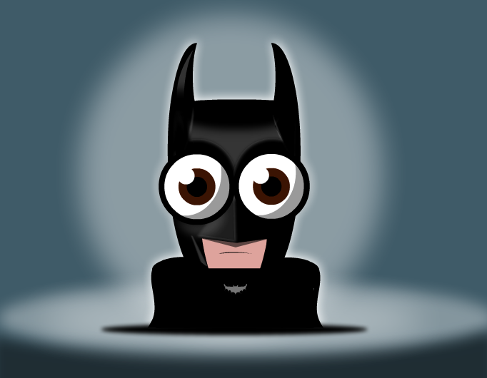 Bug Eyed Batman