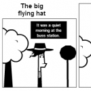 The big flying hat