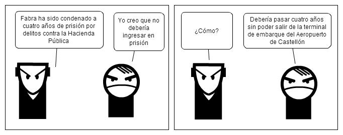 Fabra no debería ir a la cárcel