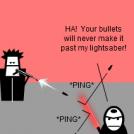 Lightsaber Defense