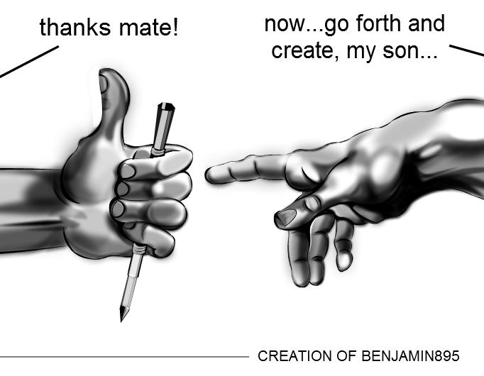 creation of benjamin895