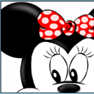 Portrait Of Minnie Mouse
