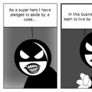 Maskt Melvin:Why I'm A Super Hero
