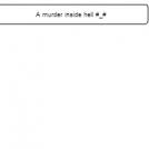A murder inside hell