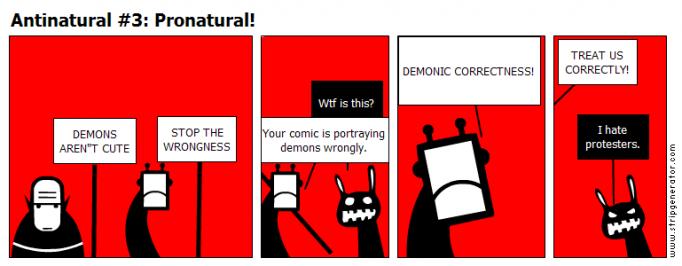 Antinatural #3: Pronatural!