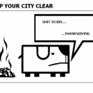 KEEP YOUR CITY CLEAR
