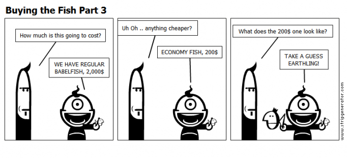 Buying the Fish Part 3