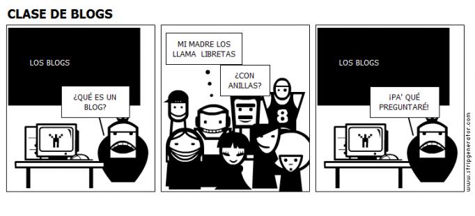 CLASE DE BLOGS
