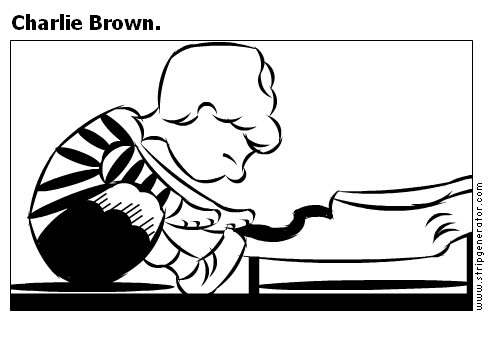 Charlie Brown.