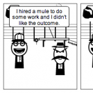 Don't Hire Mules