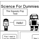 Science For Dummies! - The Squeaky Pop Test