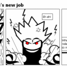 Dragon Ball : Sangoku's new job