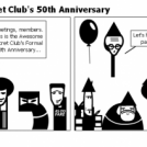 The Awesome Secret Club's 50th Anniversary