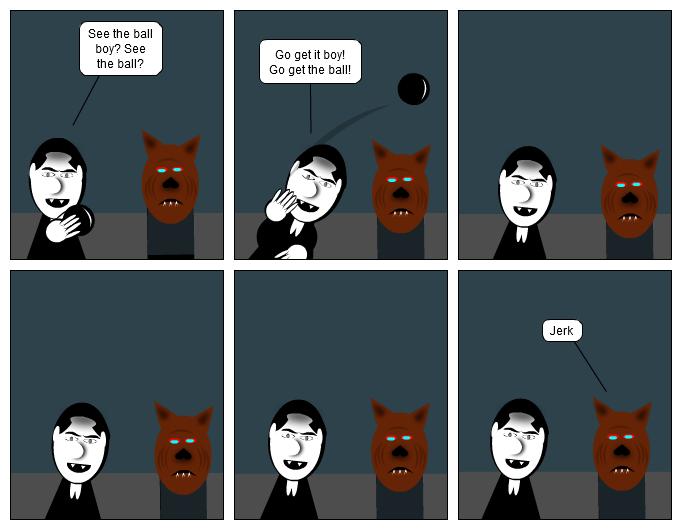 Am I a dog…