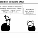 Farsi belli col lavoro altrui