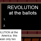 Revolution at the Ballots!