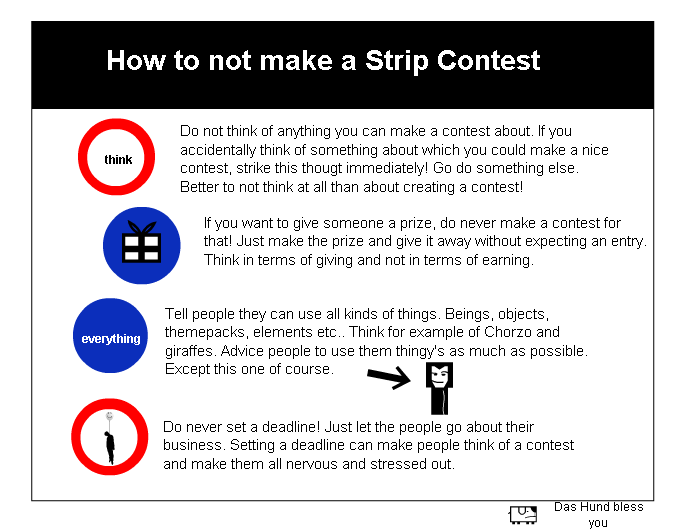 How To Not Make A Strip Contest - Tutorial
