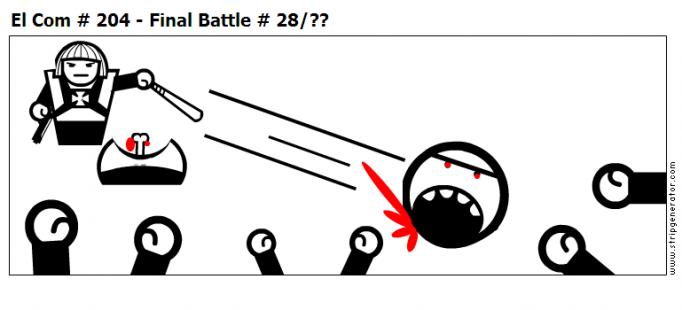 El Com # 204 - Final Battle # 28/??