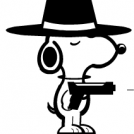 gangster snoopy