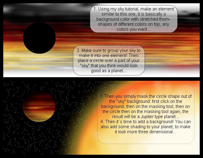 Planet tutorial #1 - Jupiter type