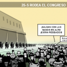 25-S rodea el congreso