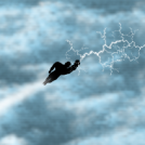 Amby in the Sky with Lightnings