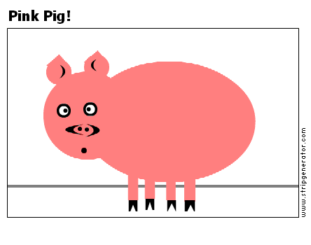 Pink Pig!
