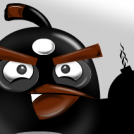 Angry Bird: Black