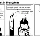 The violence inherent in the system