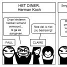 Strip Opdracht Nederlands: Het Diner