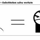 True Philo-sophy--Substitution salva veritate