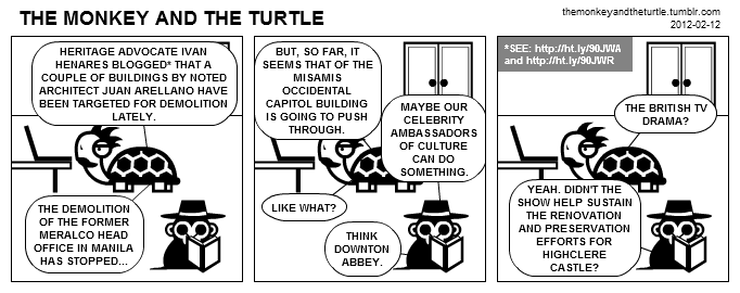 The Monkey and the Turtle (2012-02-12)