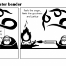 Flame Bender vs. Water Bender