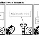 """Tortuga """"I"""" Caracol: Horarios y Ventanas"""