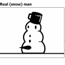 Real (snow) man