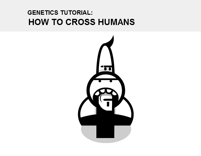 How to cross humans