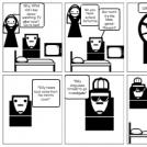 Irony Comic Strip